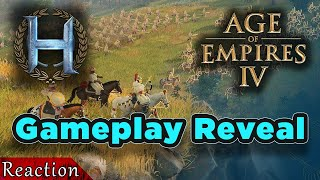 Reacting To AOE4 Gameplay Reveal