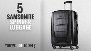 "Top 10 Samsonite Spinner Luggage [2018]: Samsonite Winfield 2 Hardside 28"" Luggage, Brushed"