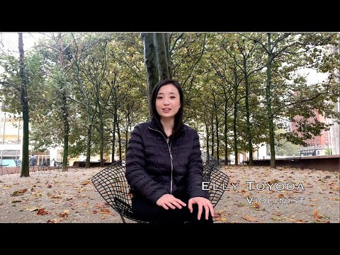 Violinist Elly Toyoda about architecture, chamber music and Messiaen during the 2018 program