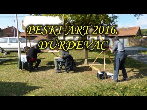 Likovna radionica Peski-Art 2016. Đurđevac HD