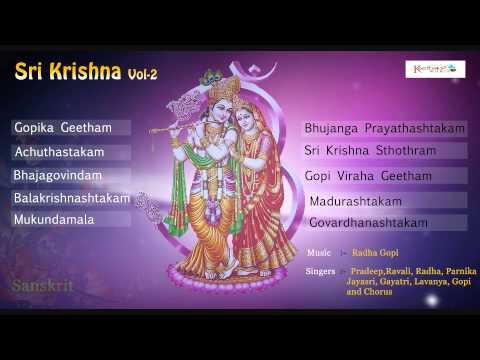 Top Krishna Bhajan   Sree Krishna Vol - 2   Lord Krishna   Sanskrit Bajanas