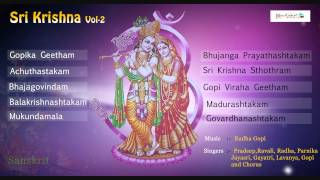 Top Krishna Bhajan | Sree Krishna Vol - 2 | Lord Krishna | Sanskrit Bajanas