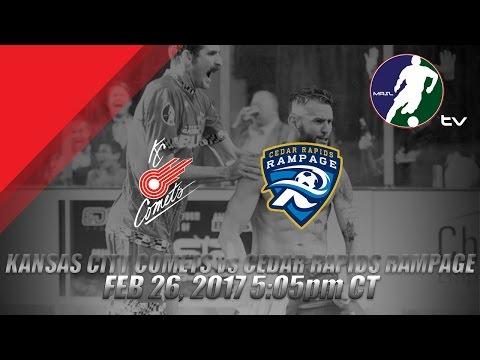 Kansas City Comets vs Cedar Rapids Rampage