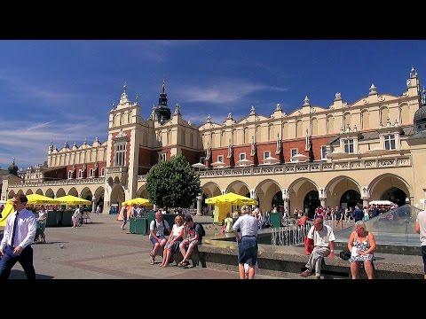 Sukiennice Kraków (the Cloth Hall), Polska (Poland) [HD] (videoturysta)