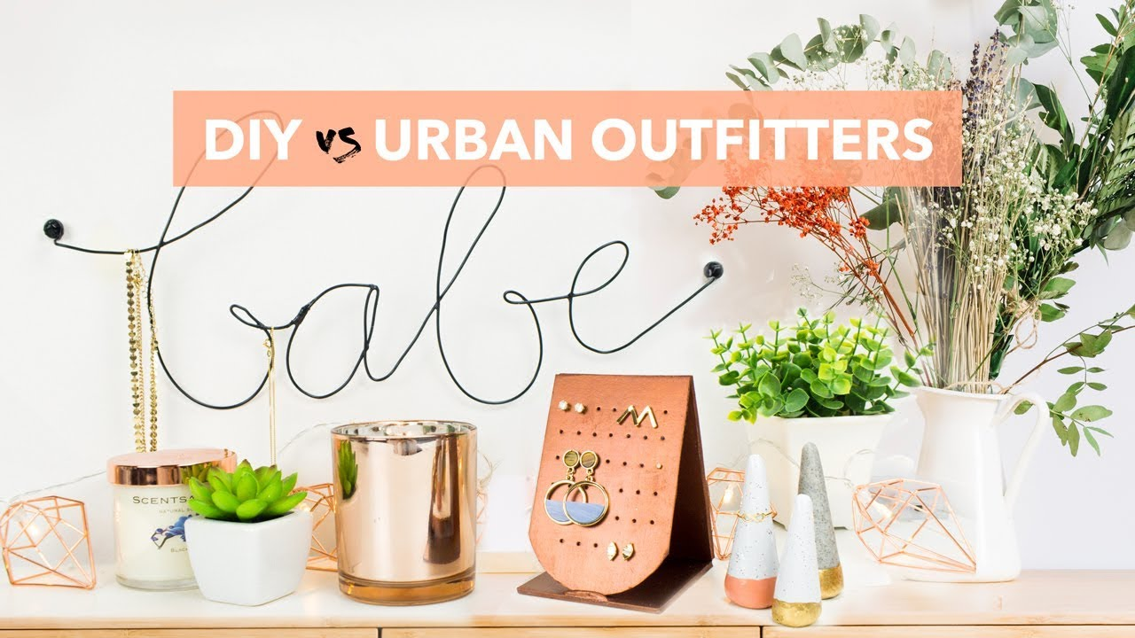 DIY vs URBAN OUTFITTERS 3 CHEAP EASY Jewelry Organizers