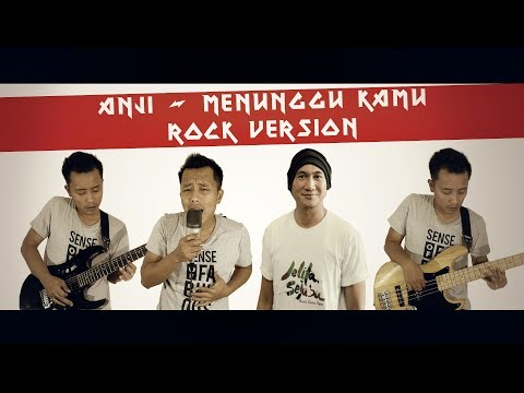 ANJI - MENUNGGU KAMU (Rock Cover By Roy LoTuZ)