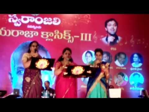 Anthahpuramlo andala Swaranjali's Ilayaraja ClassicsIV Kavitha Chakra, Srivani Sailaja, Prathyusha