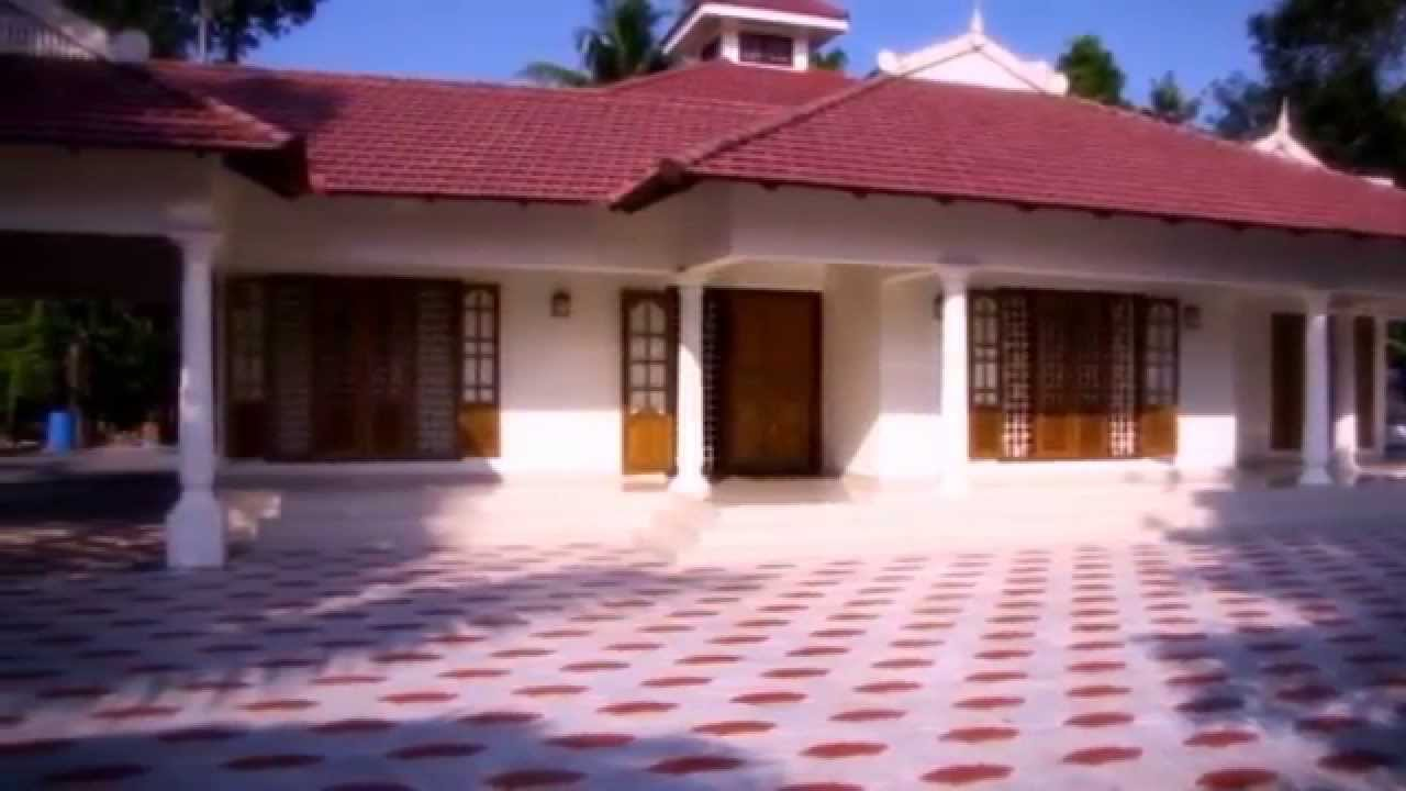 my dream house kerala style sigle floor youtube