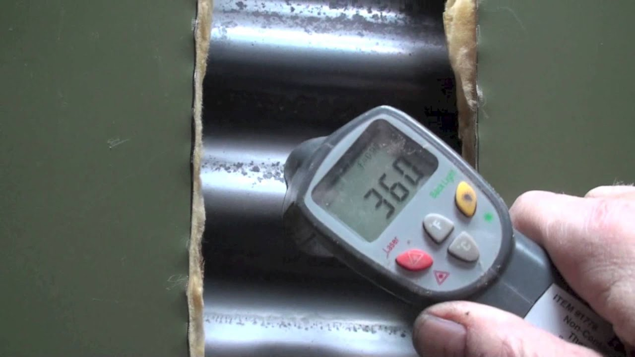 Gas Furnace Heat Exchanger Temp Measure Youtube