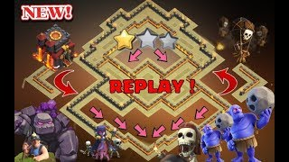 Best Th10 War Base 2018 Anti 2 Star With Replays Anti Bowler Anti Miner Anti Valkyrie