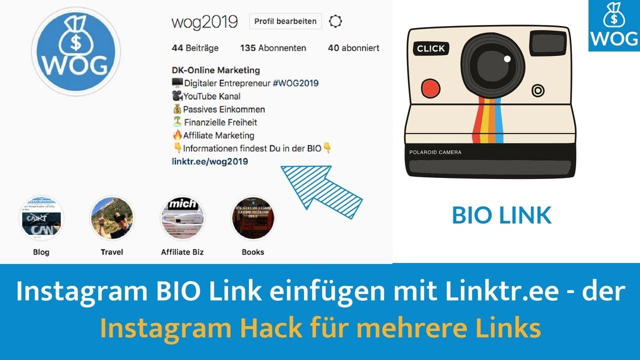 Instagram Link Einfügen