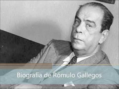 Biografía de Rómulo Gallegos