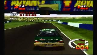 TOCA 2 Touring Car Challenge PS1: Donington (Grand Prix)