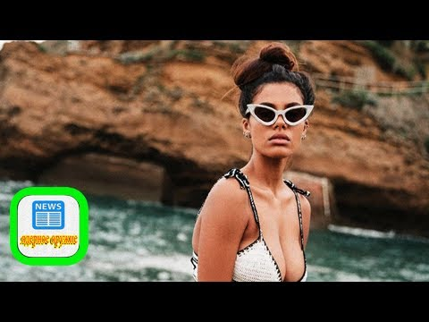 Where to go in biarritz: french model tina kunakey's guide to her hometown