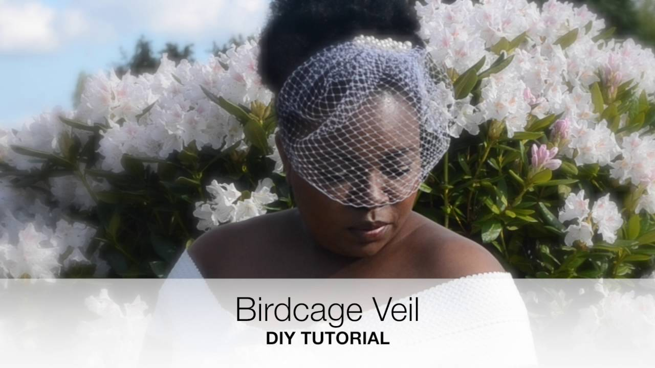 Birdcage Veil Diy Wedding Tutorial