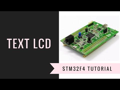 STM32F4 with LCD   FunnyDog TV