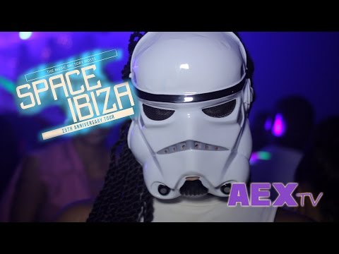 Space Ibiza 25th Anniversary Hosted by Barbados Music Factory (AEX TV edit)