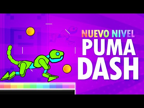 "Nuevo Nivel ""Puma Dash"" Por IZhar - Geometry Dash"