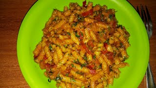 Simple Indian style pasta recipe in Hindi