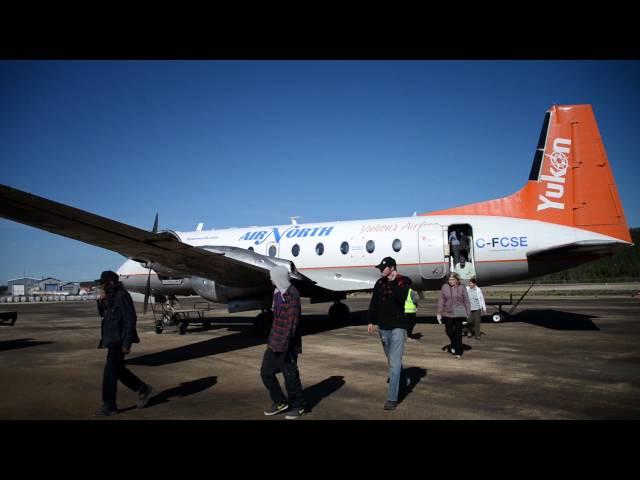 Fly Whitehorse, Yukon To Inuvik, Northwest Territories