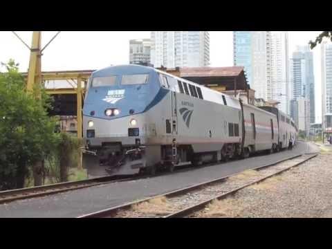 Amtrak Train 22 Departs Austin, TX