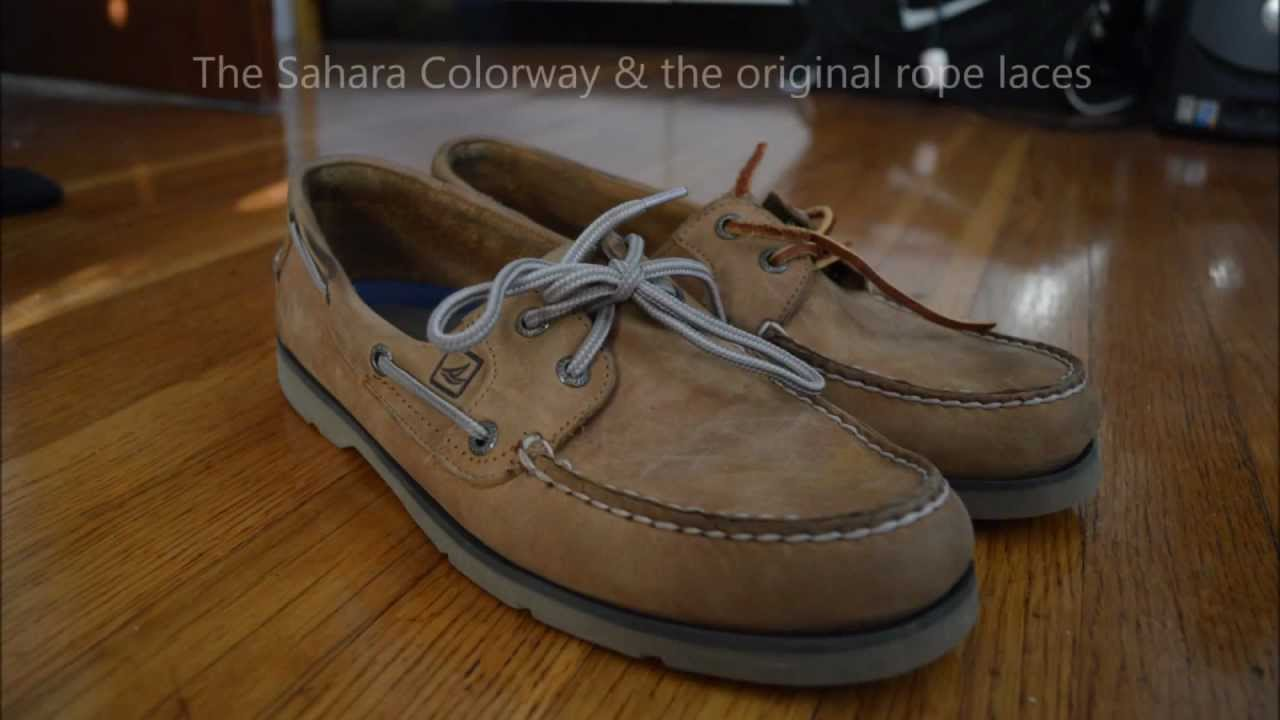 leather shoe laces for sperrys