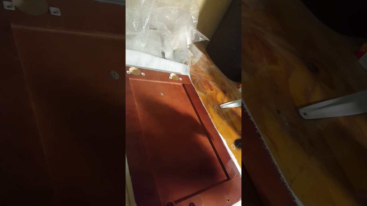 Cleaning back of cabinet Cabinet prep Simple Green - YouTube