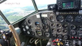How to fly the Junkers Ju 52 Airplane - Inside the Cockpit