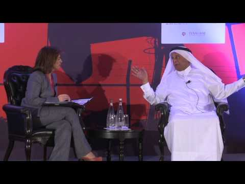 Feature Interview of HE Al-Attiyah with Dyala Sabbagh, Gulf Intelligence at the Doha Energy Forum