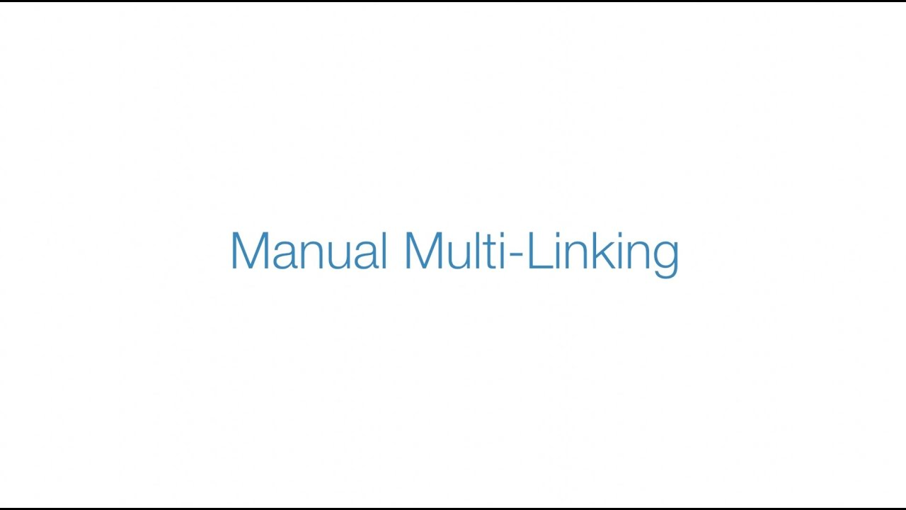 using multi-link mode to manually link multiple insteon devices