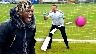 KSI vs Top Gear: AIRBAG FOOTBALL CHALLENGE | Top Gear