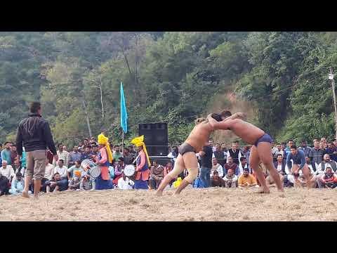 Minda Pathankot vs Jolie pehlwan Lalliyan || Hara Narianpur kushti Dangal ||