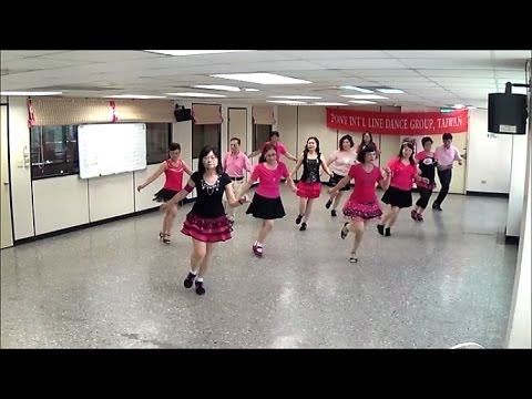 Rekayasa Cinta (by Maya Sofia) - line dance (demo & walkthru) = 愛情工程 - 排舞(含導跳)