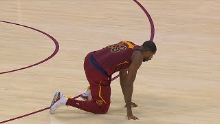 Tristan Thompson Scary Injury | Cleveland Cavaliers vs Indiana Pacers