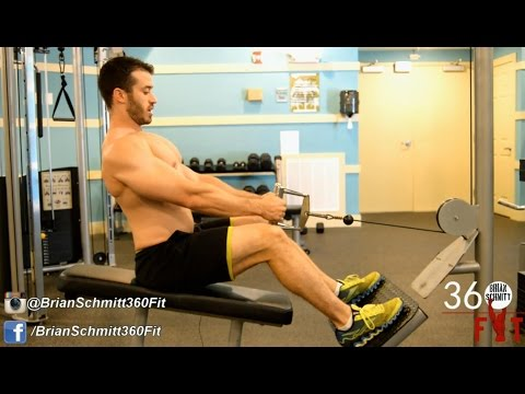 How to perform the Seated Cable Row Close, Underhand, Wide Grip