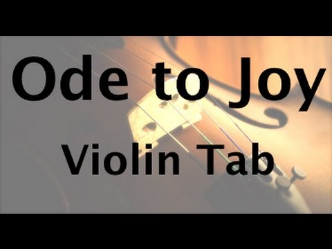How to play Ode to Joy on the violin