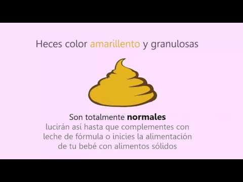 Heces color mostaza