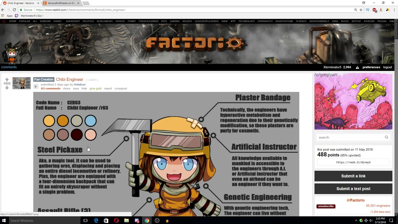 Factorio Reddit Weekly Discussion EP1 - News, Inspiration & Thoughts