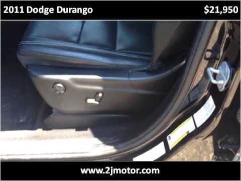 2011 dodge durango used cars amarillo tx youtube