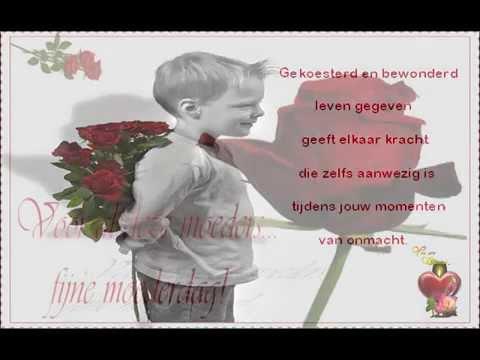Mooi Gedicht Moederdag Ook Voor As Moeders