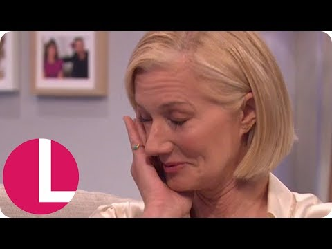 Joely Richardson Gets Emotional Talking About Her Work With Ugandan Refugees | Lorraine