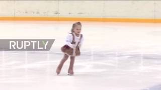Viral: This toddler's ice skating skills will melt your heart and blow your mind