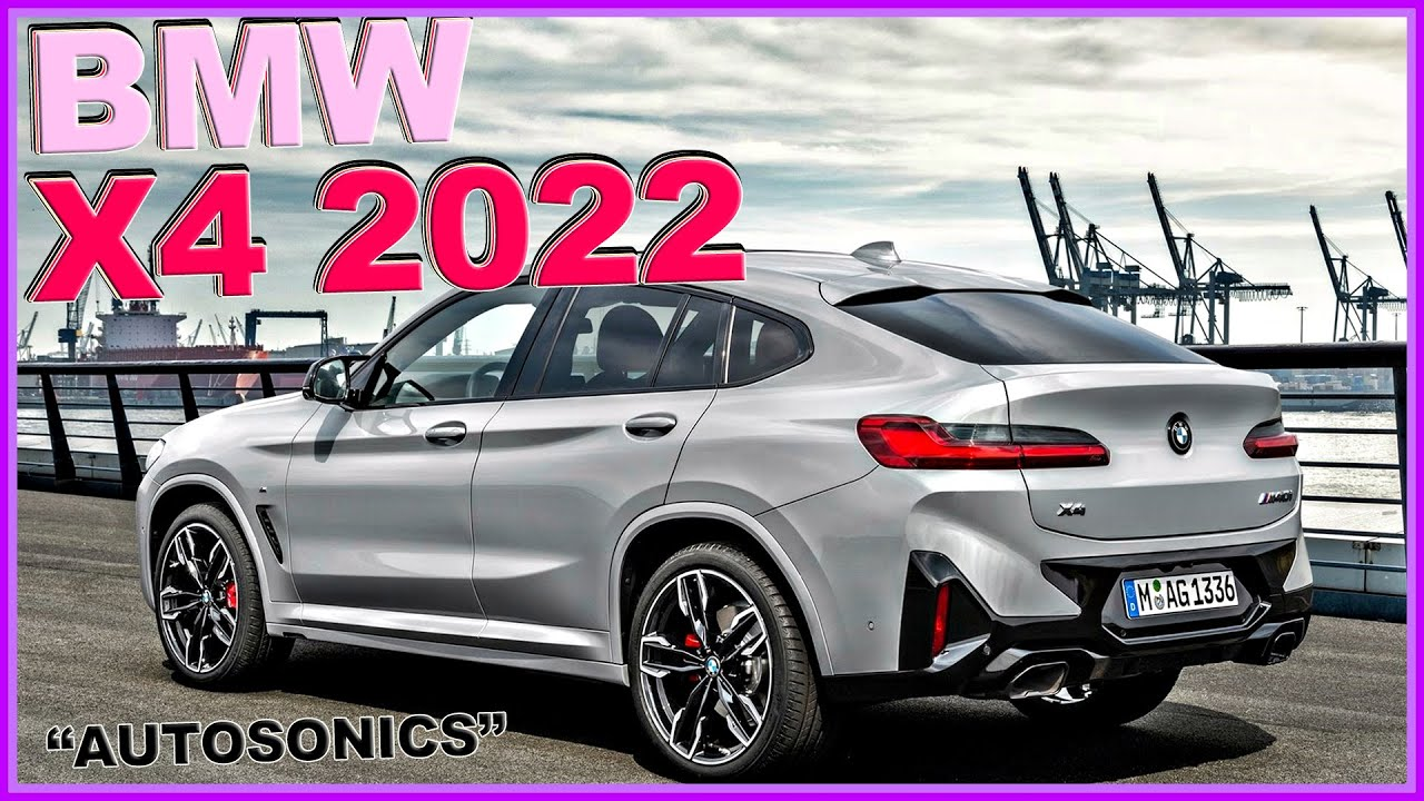 BMW X4 페이스리프트 2022 알고 사셔요~!. 벤츠 GLC 경쟁 20i 20d 30e 30i 30d m40i X3 Facelift♥ #오토소닉스