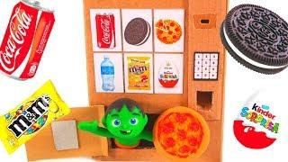 Kids Built A Pizza Vending Machine ❤ Cartoons For Kids