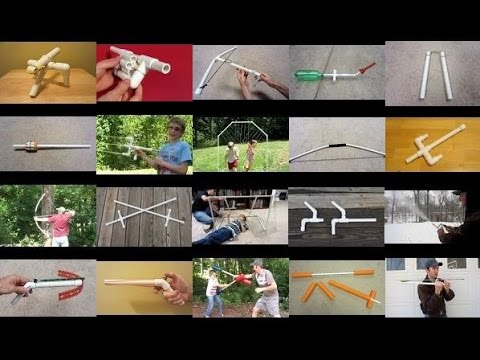 20 pvc pipe projects to build pvc diy fun toys youtube solutioingenieria Images