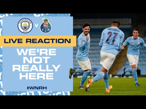 LIVE | FULL-TIME REACTION MAN CITY 3-1 PORTO | AGUERO, GÜNDOGAN, TORRES