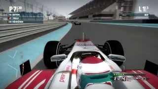 F1 2009 The Game (Mod) - Jarno Trulli @ Abu Dhabi