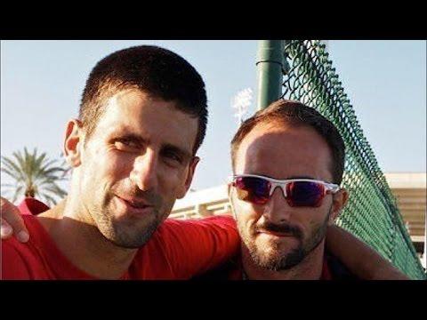 Novak Djokovic's New Coach-Roger Federer Bongo Battle