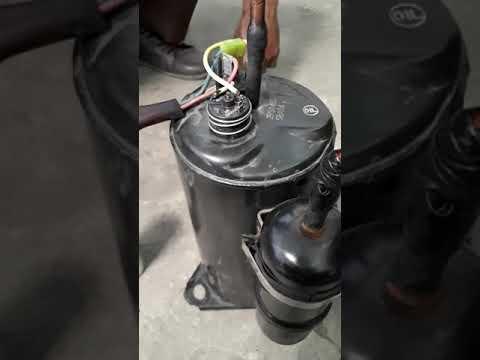 Kompresor ac bekas 1HP macet
