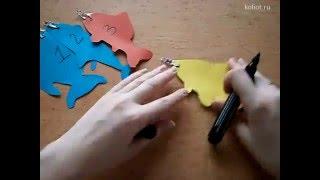 2. Как научить ребенка цифрам и буквам - Развивающие игры для детей - Раннее развитие ребенка